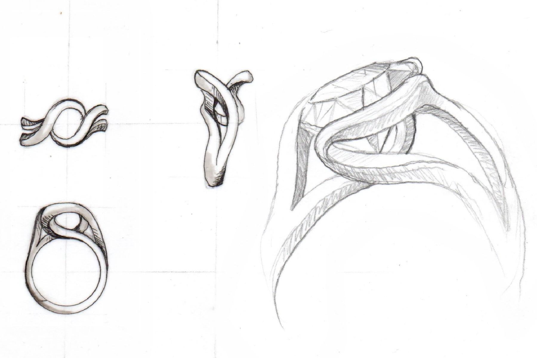 Custom Diamond, Gemstone & Right Hand Rings - Design Online or by ...